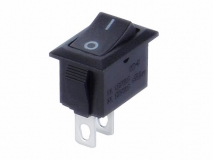 PS8A-1A_ 3A UL Rocker Switch /6A VDE Ship type Switch