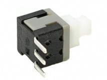 PS-58-09  Miniature reset switch 3 feet / side press ultra-thin self-locking switch / small button switch 3PIN / push button switch reset
