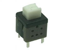 PS-58-06   Mini reset button switch 4PIN / vertical self-locking switch mini 4P / push button switch vertical four feet
