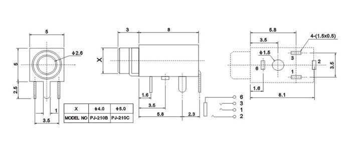 PJ-210C